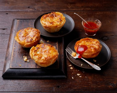 Homemade Mini Bolognese Pies Recipe