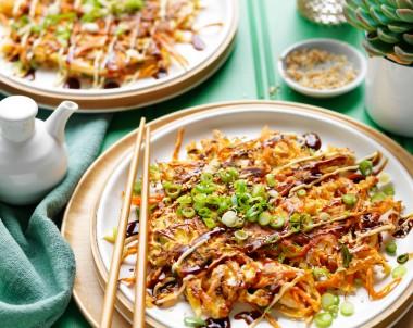 Okonomiyaki BBQ chicken recipe
