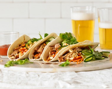 Asian Pulled Pork Tacos recipe