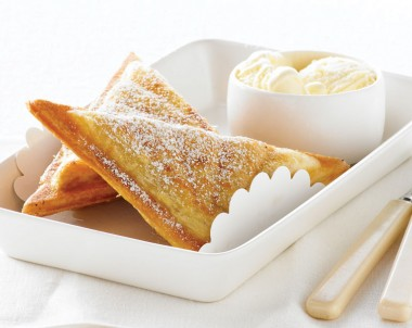 Hot Apple Pie Jaffle recipe idea from Breville