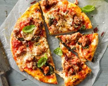 Italian Pork & Fennel Sausage Pizza