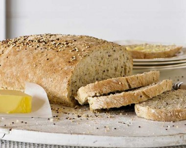 Quinoa, Linseed and Chia Bread