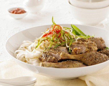 Asian Style Soy Grilled Duck