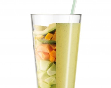Melon Madness - a quick smoothie to make with the Boss To Go blender