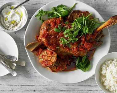 Slow Roasted Harissa Lamb Shoulder Recipe