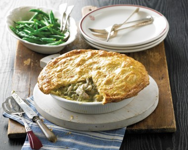 Cornfed Chicken and Coriander Pie