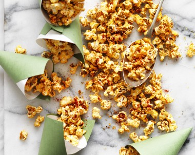 Recipe for Pizza Popcorn