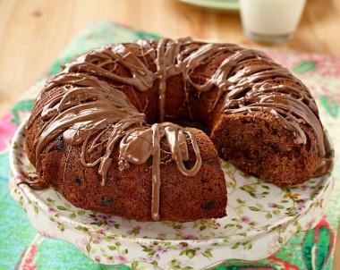 Double Choc Banana Sour Cream Cake