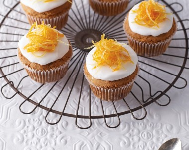 Gluten Free Ginger & Carrot Cupcakes