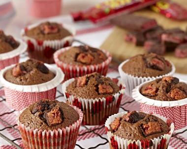 Cherry Ripe Muffins by Cadbury Kitchen