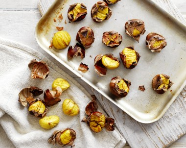 Roasted Chestnuts Preparation Method