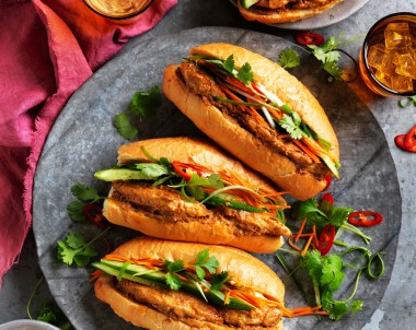 Satay chicken Banh Mi