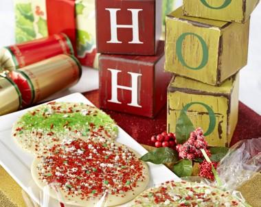 White Chocolate Christmas Speckles Recipe