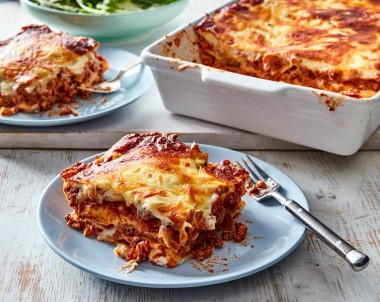 Traditional beef lasagne recipe