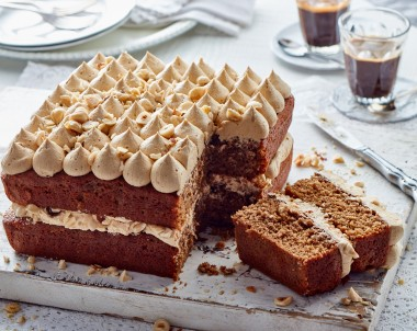 Coffee and Hazelnut Cake Recipe