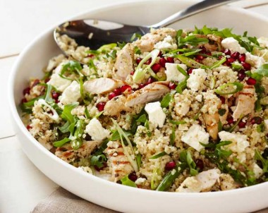 Quinoa, Chicken and Feta Salad