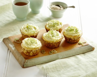 Coconut, White Chocolate and Lime Muffins