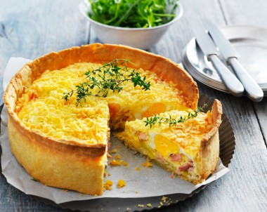 Australian bacon and egg pie recipe