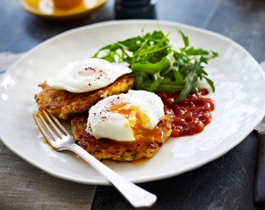 Cheesy Corn and Zucchini Fritters