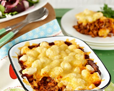 Cottage Pie with Gnocchi