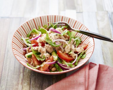 ZOOSH Light Lunch Tuna and Bean Salad