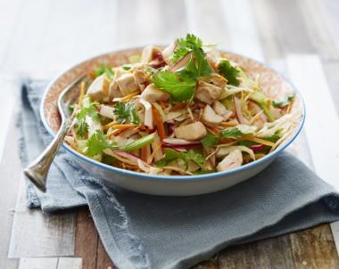 ZOOSH Light Lunch Chicken and Mango Coleslaw Salad