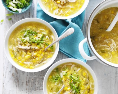 Sweet Corn and Chicken Soup recipe
