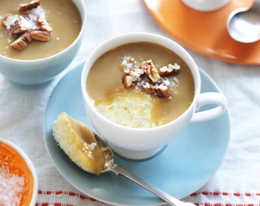 The best Salted Caramel Rice Pudding