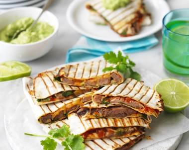 How to make Beef Steak Quesadillas