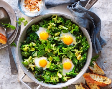 Green Shakshuka recipe
