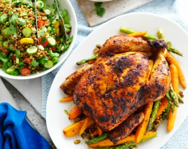 Harissa Roast Chicken Recipe