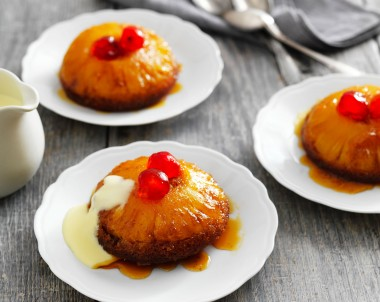 Pineapple upside down cakes recipe from scratch