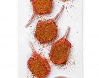 Moroccan Lamb Cutlets recipe