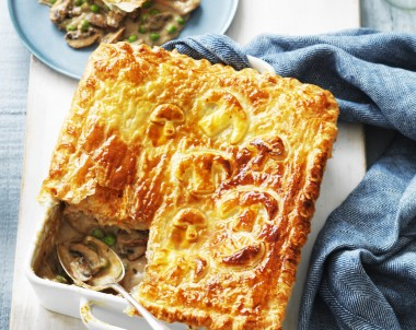 Chicken and Mushroom Pie recipe