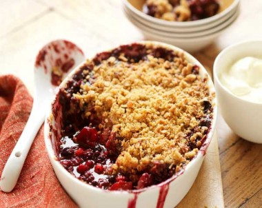 Berry & Apple Brown Sugar Crumble