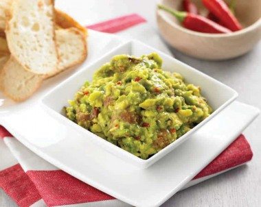 Chorizo and Chilli Avocado Salsa