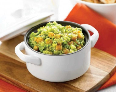 Cumin Spiced Pumpkin, Avocado Salsa