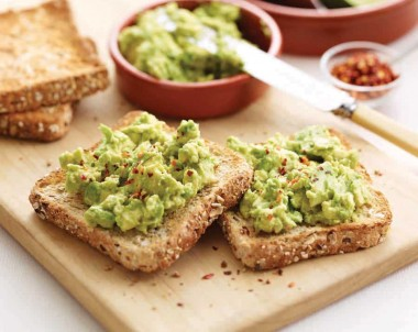 Spiced Avocado Toast