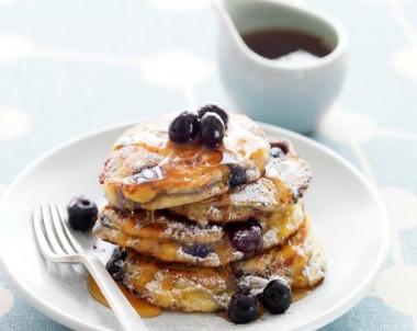Blueberry & Ricotta Hotcakes