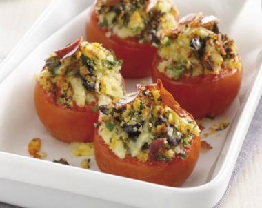 Herb Crumbed Roast Tomatoes