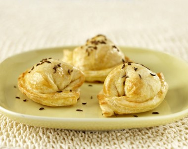 Ricotta and Parmesan Parcels
