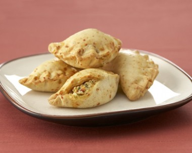 Ricotta, Sun-dried Tomato and Parsley Empanadas