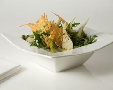 Crispy Pear and Rocket Salad