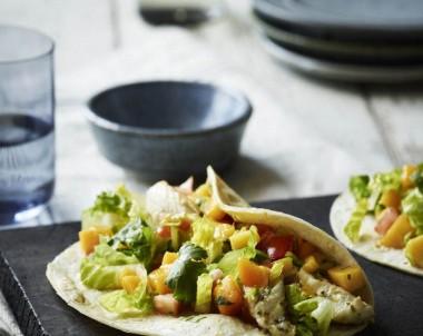 Fish Tacos with Fresh Mango Salsa