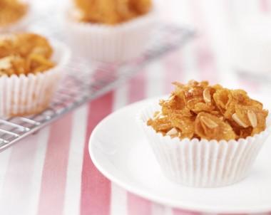 Traditional Honey Joys recipe with almonds