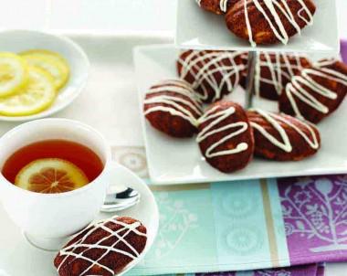 Chocolate Banana Madeleines