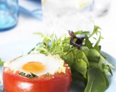 Vegetable Baked Eggs