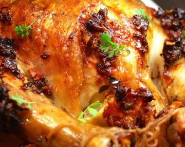 Lemon & Prosciutto Roast Chicken