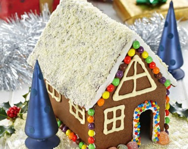Chocolate Gingerbread House Recipe