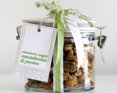 Cinnamon Sugar Crusted Macadamias